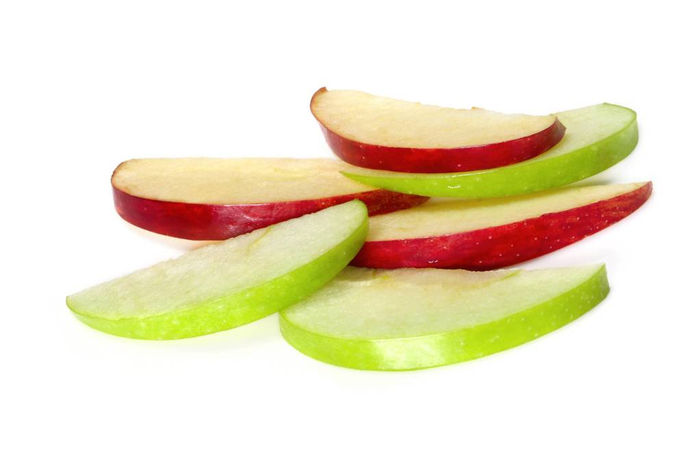 Skivade äpplen